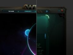 Wildstar Launcher Concept by Miguel Angel Durán