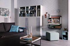 Libreria Con Anta Muto by Vox Muto Interior S, Shelving, Entryway, Loft, Couch, Furniture Inspiration, Studio, Home Decor, Design
