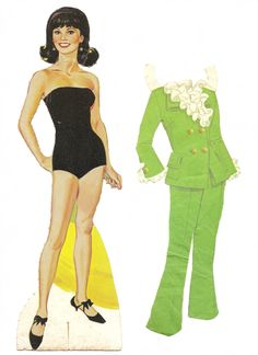 Mostly Paper Dolls: Marlo Thomas as THAT GIRL