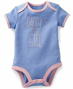 Carter's Baby Girls' Daddy's Little Girl Bodysuit - Kids Newborn Shop - Macy's