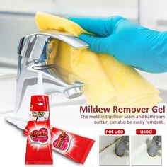 Mold Remover Gel is the ideal solution to tough mold stains. The thick gel clings to and penetrates stains on tile, grout, showers, and tubs without harsh fumes or overspray.FEATUREFast Effect -- You can effortlessly get rid of those black a. Remove Mold Stains, Mold And Mildew, Flexible Pipe, Types Of Mold, Mildew Remover, Bath Or Shower, Bathroom Windows, Home Gadgets, Black And Brown