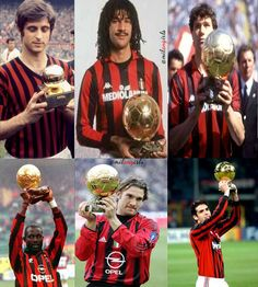 AC Milan Ballon d'Or winners