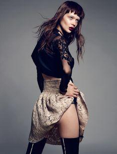 Stefan Khoo Captures Tanya Katysheva in Naughty Fashions for Style Singapore June