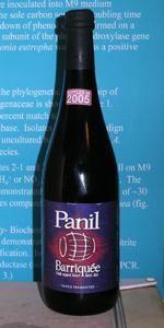 Panil Barriquée (Sour Version) - Flanders red ale.  Amazing.