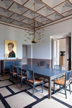 Parisian architect and interior designer Pierre Yovanovitch