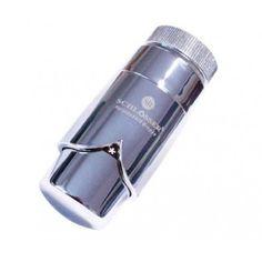 """Schlösser Thermostatkopf """"Brilliant"""" M30 x 1,5 für Danfoss chrom/chrom 6005 00008"""