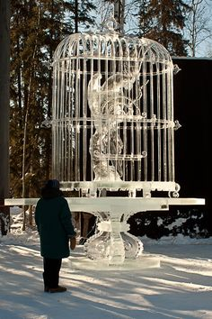 Fairbanks, Alaska. World Ice Art Championships