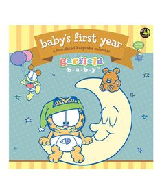 Baby's First Year 2015 Garfield Wall Calendar by TF Publishing #zulily #zulilyfinds