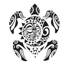 Turtle Tattoo In Maori Style. Vector Illustration Royalty Free Kliparty, Vektory A Ilustrace. Maori Tattoos, Maori Tattoo Frau, Maori Tattoo Meanings, Tribal Turtle Tattoos, Turtle Tattoo Designs, Maori Tattoo Designs, Animal Tattoos, Polynesian Tattoos, Small Tattoos With Meaning