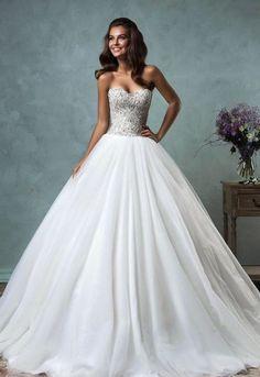 Prachtige prinsessen trouwjurk elegante bruidsjurk op maat