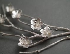 Rebecca Fargher RF144 White Cherry necklace $750