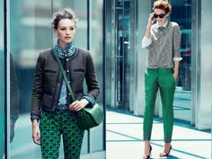 J.Crew Emerald City 2012 November Fall Style Guide: Designer Denim Jeans Fashion: Season Collections, Runways, Lookbooks, Linesheets & Ad Campaigns
