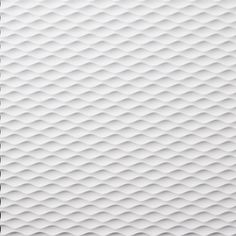 White molded surface design pattern - mesh look