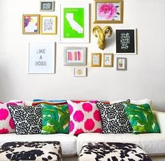 Bright, bold and beautiful pillows!