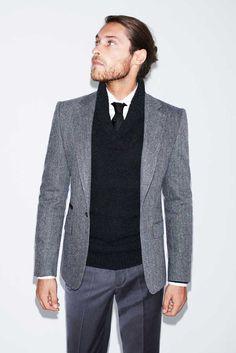 Zara Man grey suits