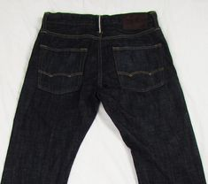 77 Reserve American Eagle Slim Straight Selvedge Low Rise Dark Wash sz 28 X 32 Denim Jeans, American Eagle Outfitters, Jeans Size, Slim, Pairs, Skinny, Dresses, Fashion, Vestidos