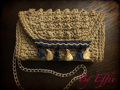 Crochet bubble bag