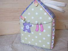Купить Кукольный домик-сумка - домик, кукольная миниатюра, кукольный дом, кукольный домик