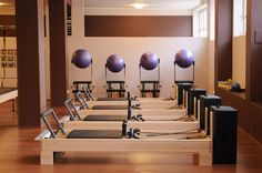 Pilates Equipment - Reformers, Boxes, Stability Balls and Chairs