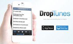 DropTunes, un reproductor web para la música que almacenas en Dropbox