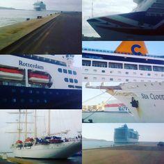 Sitting on the dock of the bay ....... #djlife #cruiseships #cagliari #ports #terminal #operation #cagliariturismo #sardinia #sardegna #mariners #sailors #turism #travels #travel #travelphotography #ship #ships #cruises #cruiseterminal #dock #docks #porti #porto #ingegneria #work #sun #picoftheday #loveboats http://tipsrazzi.com/ipost/1508985433685332553/?code=BTw_kHKDZJJ