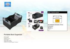 Portable Boot Organizer