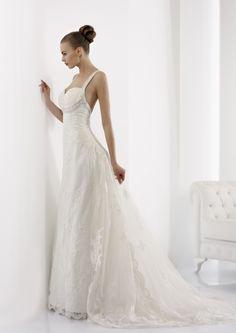 Collezione abiti da sposa #Jolies, abito da #sposa modello JOAB13014DW