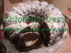 Ciambella al cacao con cuore di mascarpone - Ricette Light