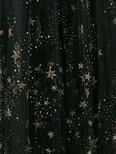 Starry tulle