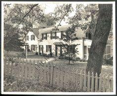 BS PHOTO afa-260 Dickeyville Scene Woodruss House 1961