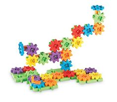 Toy Interlocking Gear Sets - Learning Resources Gears Starter Building Set 60 Piece -- Click image for more details. Building For Kids, Building Toys, Learning Toys, Learning Resources, Stem Skills, Motor Skills, Cause And Effect, Problem Solving Skills, Critical Thinking