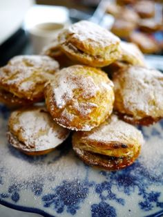 Wild Mince Pies.  Love the pastry recipe and technique, but not a fan of mincemeat.  Going to switch out the filling for something fruity.