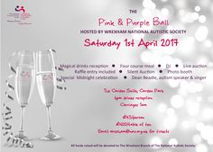The Pink and Purple Ball - EventsnWales | Charity | Wrexham NAS, Join us for an amazing charity ball on Saturday 1st April 2017 in aid of Wrexham NAS.