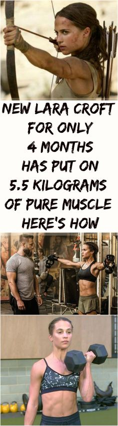 #Lara Croft #Muscle #Fitness #Tips