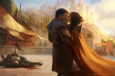 The Mountain and the Viper - Oberyn Martell Ellaria Sand Ser Gregor Clegane - Alternate happy ending - Print on Society 6
