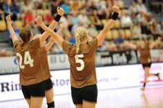 København Håndbold debuterer i Verdens Bedste Liga mod Randers HK. 7. september 2013.   #sæsonstart