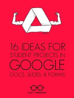 A list of 16 ideas for student projects that incorporate technology. Google Classroom, School Classroom, Flipped Classroom, Teaching Strategies, Teaching Tools, Teacher Resources, Teaching Procedures, Student Teaching, Teaching Ideas