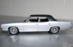 1971 Ford LTD 1:25th scale model