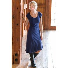 Crescendo Dress | Athleta - I really like it in the falcon color... and they still sell it in tall!
