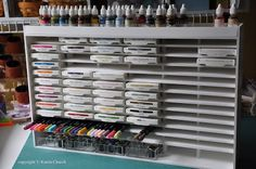 {Organization} Foam Board Stamp Storage- DIY with Video - Scrap this...and that!