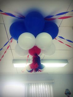 Decoración con globos Independencia