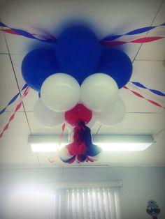 Decoración con globos Independencia
