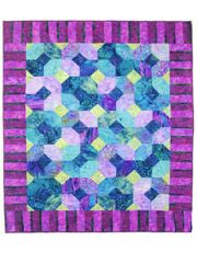 Pieced Baby Quilt Downloads - Stix n' Stones Quilt Pattern