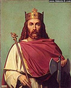 Chilpéric Ier - Roi de Neustrie (534 - Sept. 584 Chelles) - 4° fils de Clotaire I - Dynastie des Mérovingiens