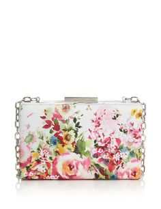 Floral Box Clutch | M&S love it!
