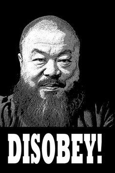 Ai Weiwei by Banksy