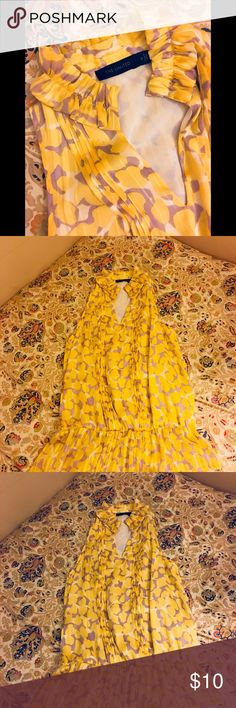 NEW 🌼 The Limited Yellow Blouse Small 🌼 The Limited Yellow Blouse Small never worn The Limited Tops Blouses