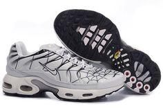 Nike Air Max Tn Mens Cobweb White Black