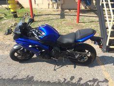 2013 Blue Kawasaki Ninja