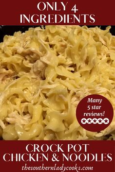 Only 4 ingredients and one of our most popular recipes. Best Picture For crockpot recipes b Slow Cooker Huhn, Crock Pot Slow Cooker, Crock Pot Cooking, Slow Cooker Recipes, Cooking Recipes, Easy Crockpot Recipes, Crock Pot Healthy, Beef Recipes, Easy Healthy Crockpot Recipes